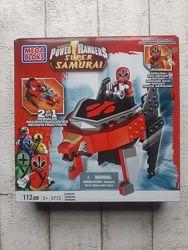 Конструктор Mega Bloks Power Rangers Samurai Красный Зорд-Лев 5772