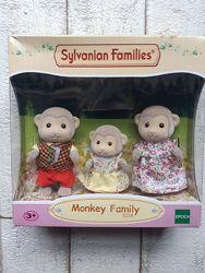 Игровой набор Sylvanian Families Семья Обезьян 5214