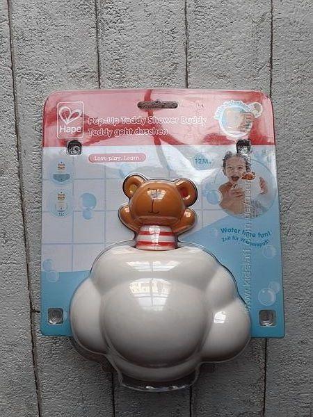 Игрушка для ванны Hape Teddy принимает душ E0202