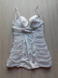 Эротическое белье корсет Victoria&acutes Secret в хорошем состоянии р. 36 В М