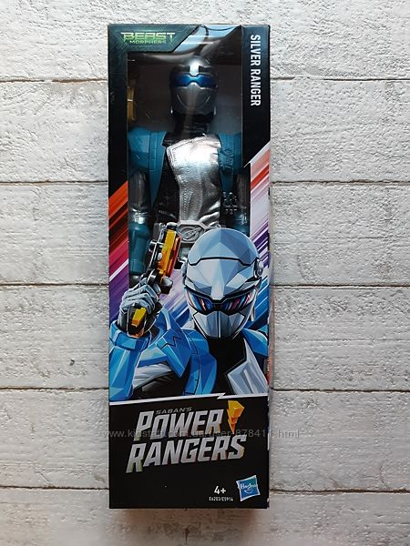 Hasbro Power Rangers Могучие Рейнджеры Серебряный Рейнджер E5914 E6203