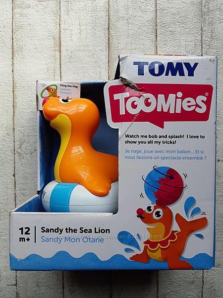 Игрушка для ванны Tomy Тюлень Сэнди T72609