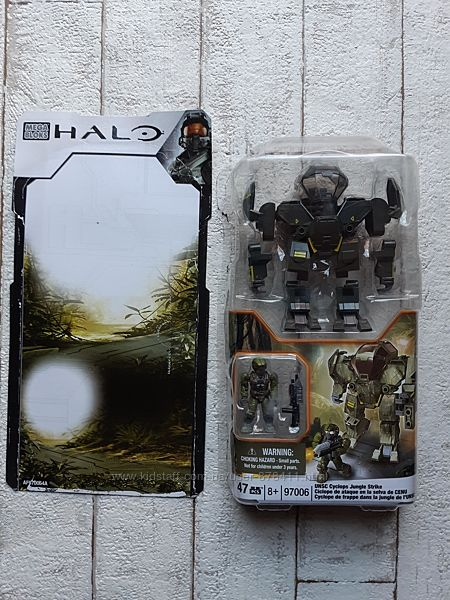 Конструктор Mega Bloks Halo Циклоп UNSC-Джунгли 97006