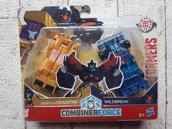 Робот трансформер Hasbro Драгстри и Вайлдбрейк C0628 C2342