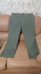 Стрейчевые котоновые брюки, XL,  NEW YORK