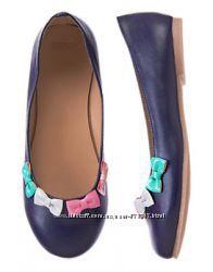 Красивые Туфельки  GYMBOREE, из Америки. 21, 5 см , р. 2. -33-34