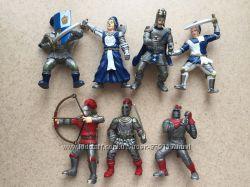 Набор рыцарей-воинов E. L. C. из 7 шт.