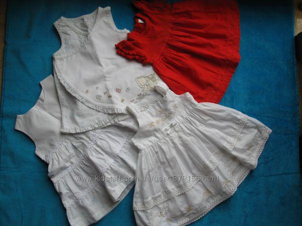летние фирменные наряды для крошек