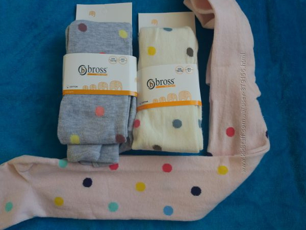 красивенные нарядные колготы BROSS для девочек 3-5 лет
