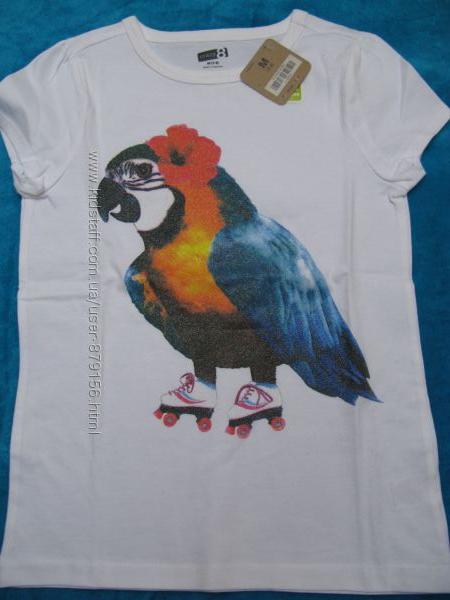 красивые футболочки CRAZY8 для наших модниц