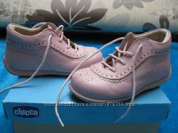 суперклассные кожаные ботиночки CHICCO для малышки