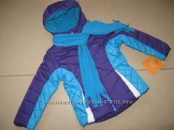 отличная теплая куртка PACIFIC TRAIL девочкам 5-6 лет