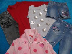пакет фирменной одежды для девочки 2-3 лет по цене ползунков