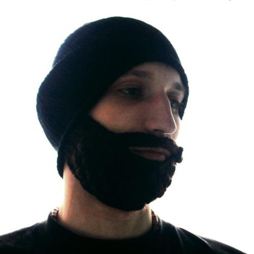 шапка с бородой вязаная борода 219 грн мужские шапки купить киев