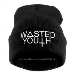 Шапка бини Wasted Youth