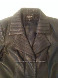 Плащ пальто кожаный состояние нового