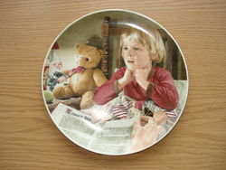 Тарелка декоративная Волшебные моменты детства Германия
