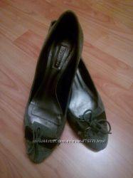 Серые замшевые туфли Dumond, р. 36, 5 -37