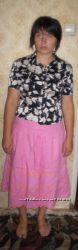 Юбка розовая с вышивкой, LAURA ASHLEY
