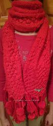 Зимний шарф женский sela, новый