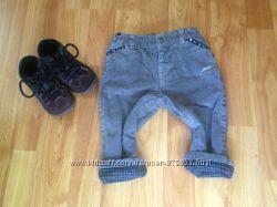 Вельветовые штаны Chicco на хлопковой подкладке