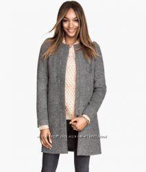 Пальто HM размер S. 45 процентов шерсть