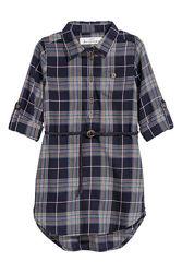 &nbspПлатье-рубашка НМ с ремешком 6-7 лет.