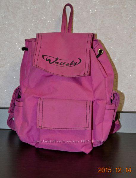 рюкзак для девочки в садик