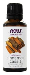 NOW Foods Эфирное масло Корицы, Cinnamon cassia oil 100 pure, 30 ml