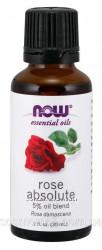 NOW Foods, Эфирное масло Розы 5 oil blend Rose Absolute, 30 ml