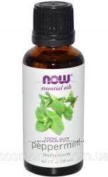 Now Foods Эфирное масло Перечной мяты Peppermint oil 100 pure, 30 ml