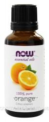 NOW Foods Эфирное масло Апельсина, Orange oil 100 pure, 30ml