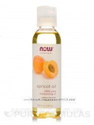 NOW Foods Масло Абрикосовой косточки Apricot oil 100 pure, 118 ml
