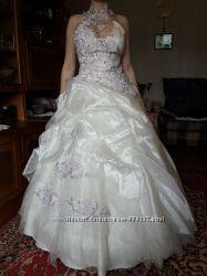 Шикарное свадебное платье. Италия.
