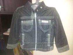 Стильная джинсовая куртка Чикко