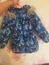 Куртка HM 116 р в идеальном состоянии