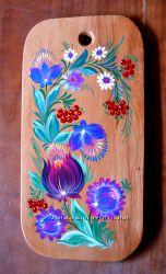 Досточка  ручная роспись