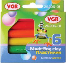 Пластилин и фломастеры VGR отличное качество