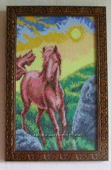 Картина-Благородный конь.