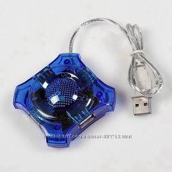 4-портовый USB хаб hub разветвител ОПТОВАЯ цена