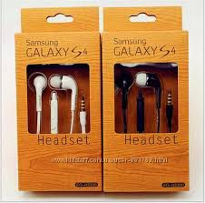 Наушники, гарнитура Samsung Galaxy S4, микрофон Супер цена
