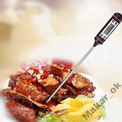 Акция Цифровой термометр кулинарный щуп - игла