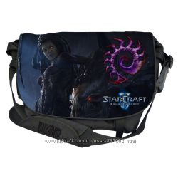 ����� ��� �������� RAZER STARCRAFT II ZERG EDITION MESSENGER BAG