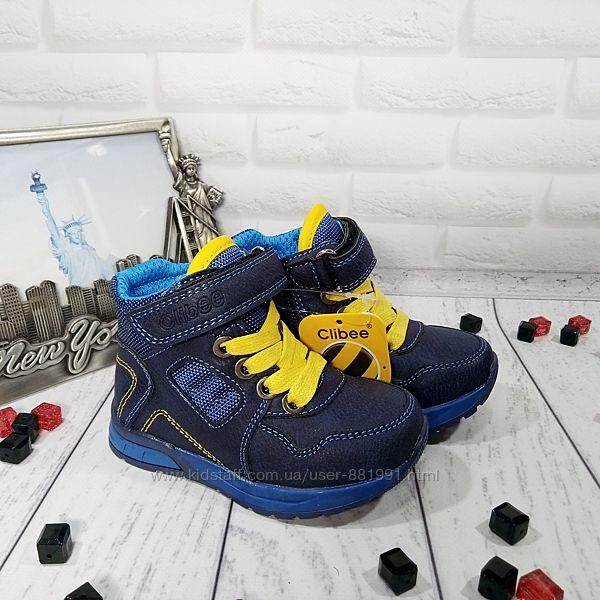 Качественные ботинки для мальчиков Польша, Clibbее