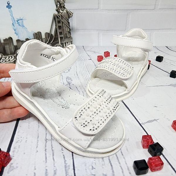 Шикарного качества белые с серебром ортопедические босоножки