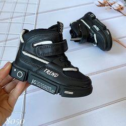 Бесплатная доставка Качественные утеплённые ботинки осень 2020