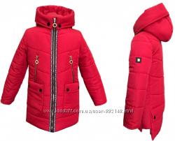 Демисезонные куртки-парки 122-140 Новинка