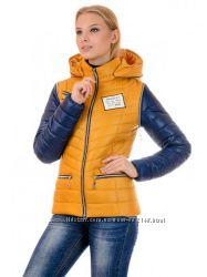Демисезонные куртки-жилетки 40-48р. Огромный выбор