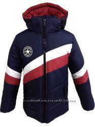 Стильные зимние куртки 122-164 Новинки