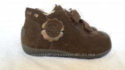 Ботинки кожаные замшевые Chicco оригинал